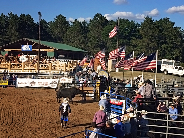Park Rapids Bull Ride and Moto X PBR 2016